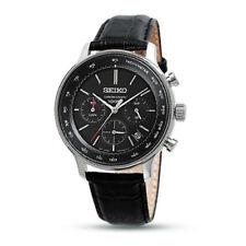 SEIKO Japan Movement Chronograph Multi-Function Analog Quartz Wristwatch SSB171