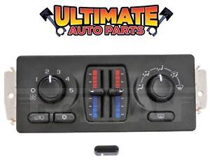 (Manual) Temperature Climate Heater / AC Control for 03-06 Chevy Silverado