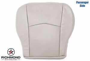 2004 2005 Cadillac SRX -Passenger Side Bottom Perforated Leather Seat Cover Tan