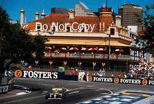 Alain Prost Williams FW15C australiano Grand Prix 1993 fotografía