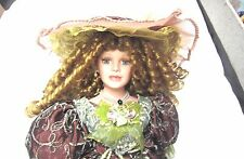 "Duck House Heirloom DOLL Limited edition 245/5000 VICTORIAN Collection 22"" Hat++"
