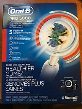 Oral-B Pro 5000 Smartseries Power Rechargeable Electric Toothbrush W/ Bluetooth