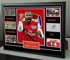 More details for thierry henry signed framed tribute
