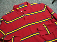 Vintage POLO by RALPH LAUREN Striped Polo Shirt | Mens XL | Retro Rugby