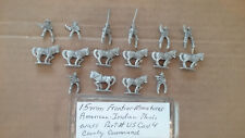 15mm Frontier Miniatures American Plains war -  Mounted US Cavalry Command