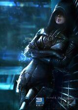 "Mass Effect 2 3 4 Game Fabric Poster 17"" x 13"" Decor 109"