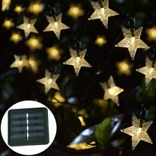New listing Lights Outdoor, Solar Powered Star String Lights, 30ft 50Le Solar String