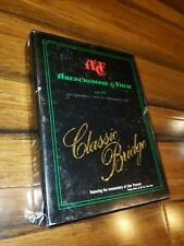 Rare Vintage Abercrombie & Fitch Classic Bridge Volume 1 Game By Andmark Inc.