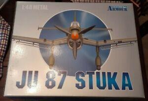 Franklin Mint Armour Collection 1:48 JU 87 Stuka Die - Cast Plane (98107)
