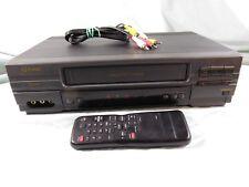 Funai F2860L VCR VHS HIFI Stereo Video Cassette Recorder Player & Remote