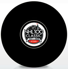 2017 NHL 100 Classic Souvenir Autograph Model Hockey Puck Montreal vs Ottawa