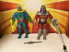 Masters of the Universe Classics Flogg + Hydron New Adventures He-Man Lot Mattel