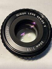 Nikon AIS Series E 50mm 1:1.8 Objektiv  Fokus von 3m-unendlich schwergängig