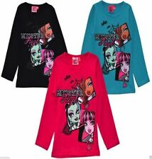 Disney Girls' Long Sleeve Sleeve 100% Cotton T-Shirts, Top & Shirts (2-16 Years)