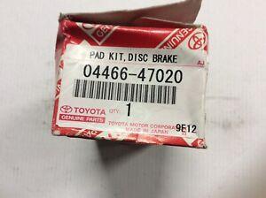 Genuine Toyota Rear Brake Pads Suit Toyota Prius ZVW30 2009 - 2010 04466 47020