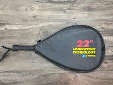 """E-Force 32.5"""" Bedlam 170g Racquetball Racquet Longstring Racket Power Lite Case"""