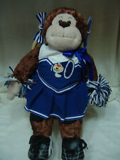 BUILD A BEAR CHEERLEADER MONKEY FULLY DRESSED & ROCKING CHAIR
