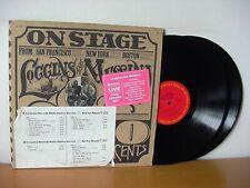 "LOGGINS & MESSINA ""On Stage"" Original PROMO Double LP 1974 (COLUMBIA PG 32848)"