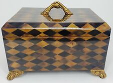 Maitland Smith Harlequin Penshell Box