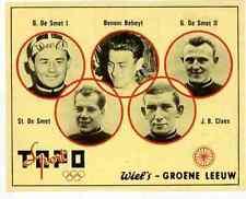 BENONI BEHEYT Cyclisme DE SMET Chromo Wiel's Wielemans Brasserie GROENE LEEUW