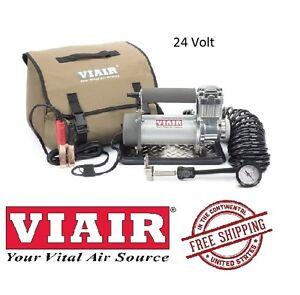 VIAIR 150PSI 2.54CFM 400P Portable Heavyweight Series 24V Air Compressor 40050
