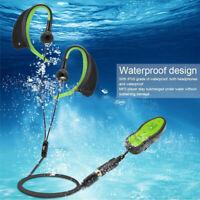8GB Wasserdicht mp3 Musik Player Sport Schwimmen Diving  Headphone in ear