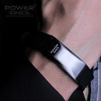 Power Ionics Iron Man Unisex 4in1 3000ions Titanium Magnetic Health Ion Bracelet