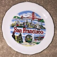 Vintage Mini San Francisco Collectible Souvenir Plate