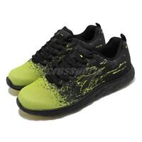 Diadora DA9AMR6955 Black Green Men Running Walking Casual Shoes Sneakers