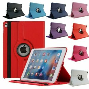 360 Rotate Leather Case Cover For Apple iPad 2 3 4 5 6 7 8 10.2 Air Mini Pro 11