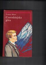 CZARODZIEJSKA GòRA - T.MANN - 1992 - IN POLACCO - 2 LIBRI