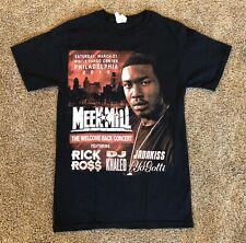 Meek Mill Wells Fargo Center Homecoming Concert Shirt Small Free Meek 2015