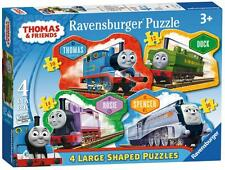 Ravensburger 07078 Thomas And Friends Four Shaped Character Jigsaw Puzzles - New