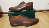 roland cartier 509 Redford brown leather mens shoes size uk 11 / eu 46
