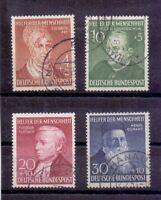 Bund 1952 - Wohlfahrt - MiNr. 156/159 gestempelt geprüft - Michel 100,00 € (361)