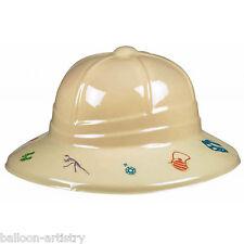 Prehistoric Dino Dinosaur Children's Party Plastic Explorer Helmets Hat