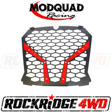MODQUAD RACING FRONT GRILL FOR THE 18+ RZR XP TURBO S - RED