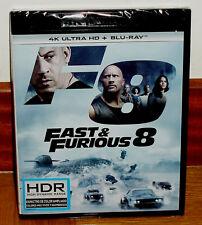 FAST & FURIOUS 8 4K ULTRA HD+BLU-RAY NUEVO PRECINTADO NUEVO ACCION (SIN ABRIR)