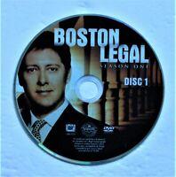 (ZERO SCRATCHES) BOSTON LEGAL - SEASON 1 DISC 1 REPLACEMENT DVD DISC ONLY
