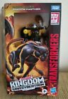 TRANSFORMERS WAR FOR CYBERTRON SHADOW PANTHER WFC-K34 KINGDOM DELUXE In Hand