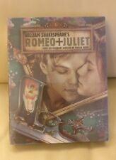 Romeo and Juliet Blufans exclusive Blu-ray Steelbook, Lenticular slip,  New/Mint