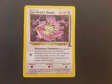 Pokemon Card: Black Star Promo #18 Team Rocket's Meowth