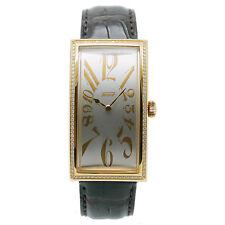 TISSOT Banana Uhr massiv 18ct Gold NP.13249 €  T.71.8.109.32A Ltd Edition silver