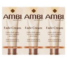 Ambi Skincare Fade Cream Oily Skin Fade Cream Dark Spots 2oz (Pack of 3)