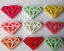 Mobile Beauty Multi color 9 Pcs Diamonds DIY Cell Phone iPhone4 5/6S Case