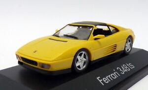 Herpa 1/43 Scale Model Car 010214 - Ferrari 348 TS - Yellow