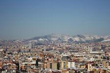 BARCELONA SPAIN CITYSCAPE POSTER 24x36 HI RES