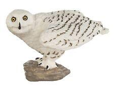 SNOWY OWL by Safari Ltd; toy/replica/bird/owls