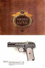 Browning c1914 Fabrique Nationale Armes de Luxe catalog