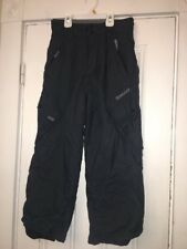 ripzone snowboard pants Boys Sz Small Black